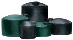 Black & Dark Green Vertical Water Tanks